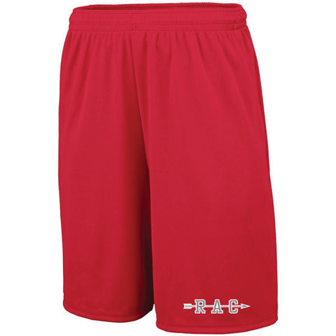 REQUIRED: Red Arrow Camp Shorts With Pocket