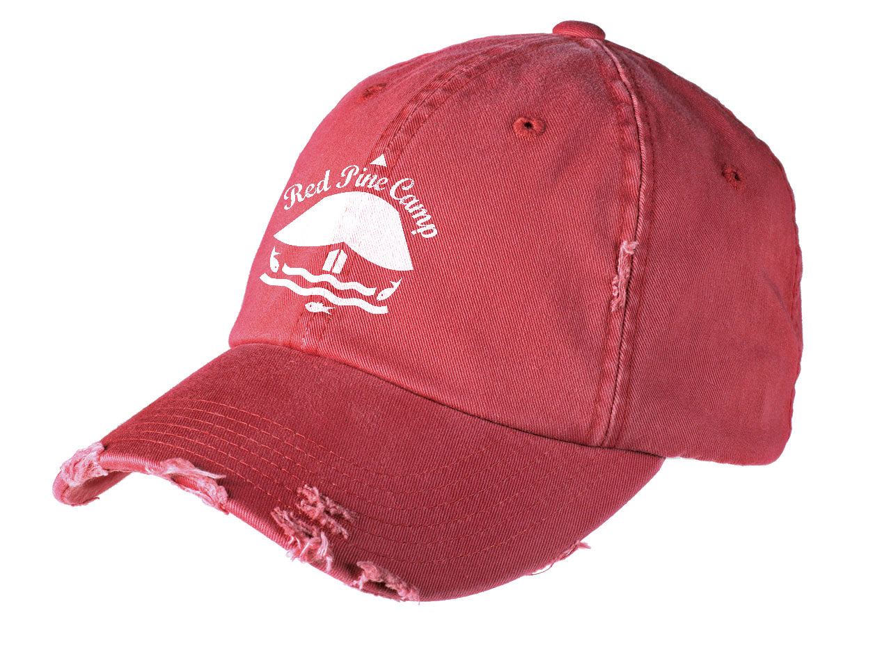 Red Pine Camp Ball Cap