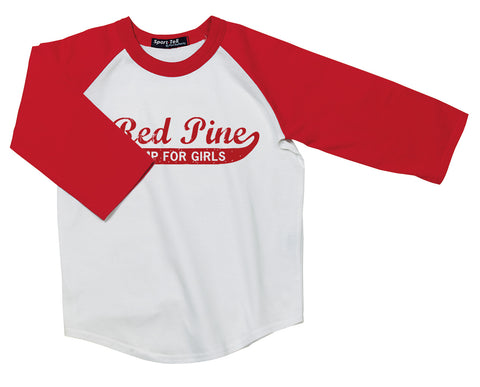 Red Pine Camp Baseball Shirt