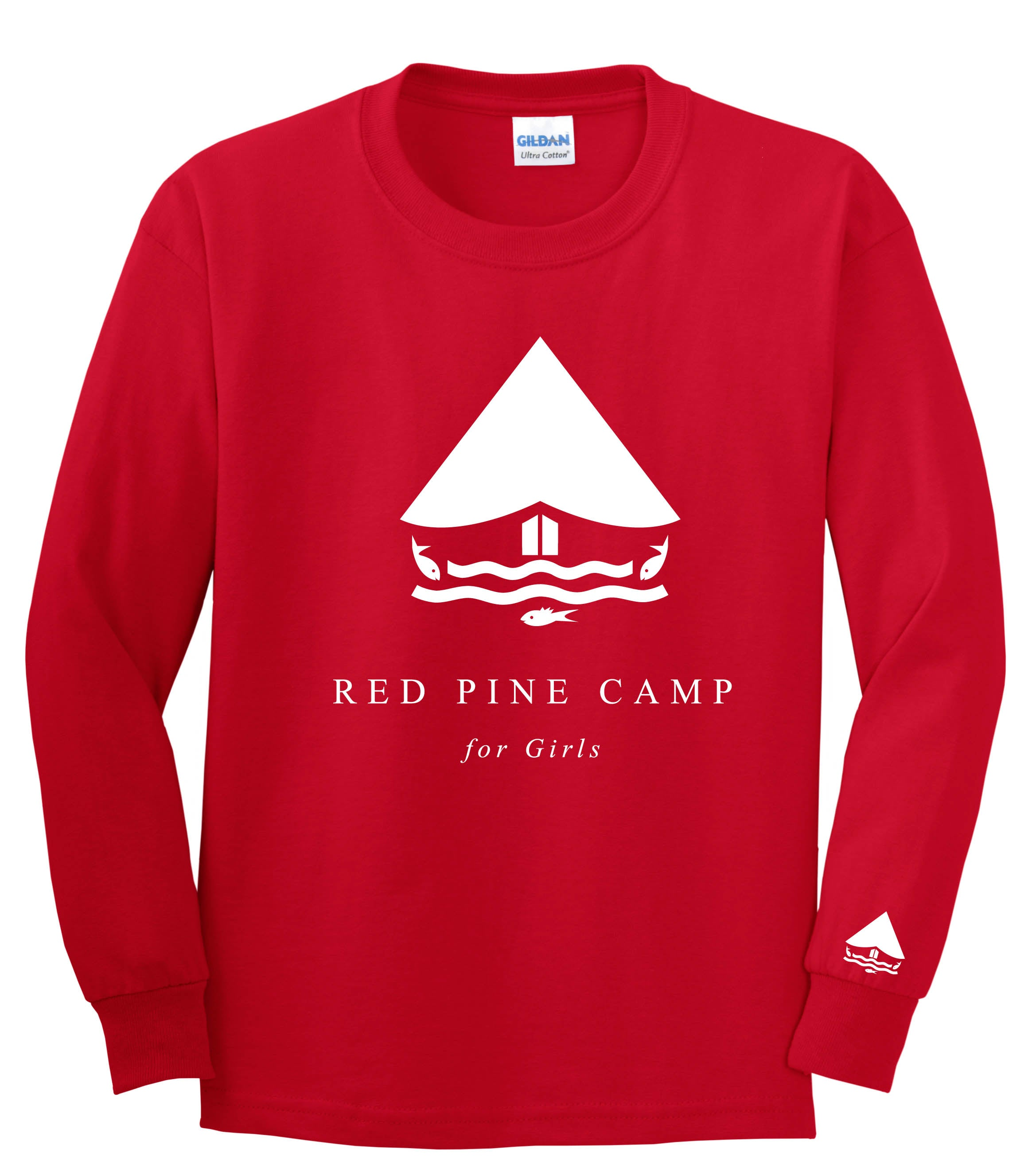 Red Pine Long Sleeve Tee