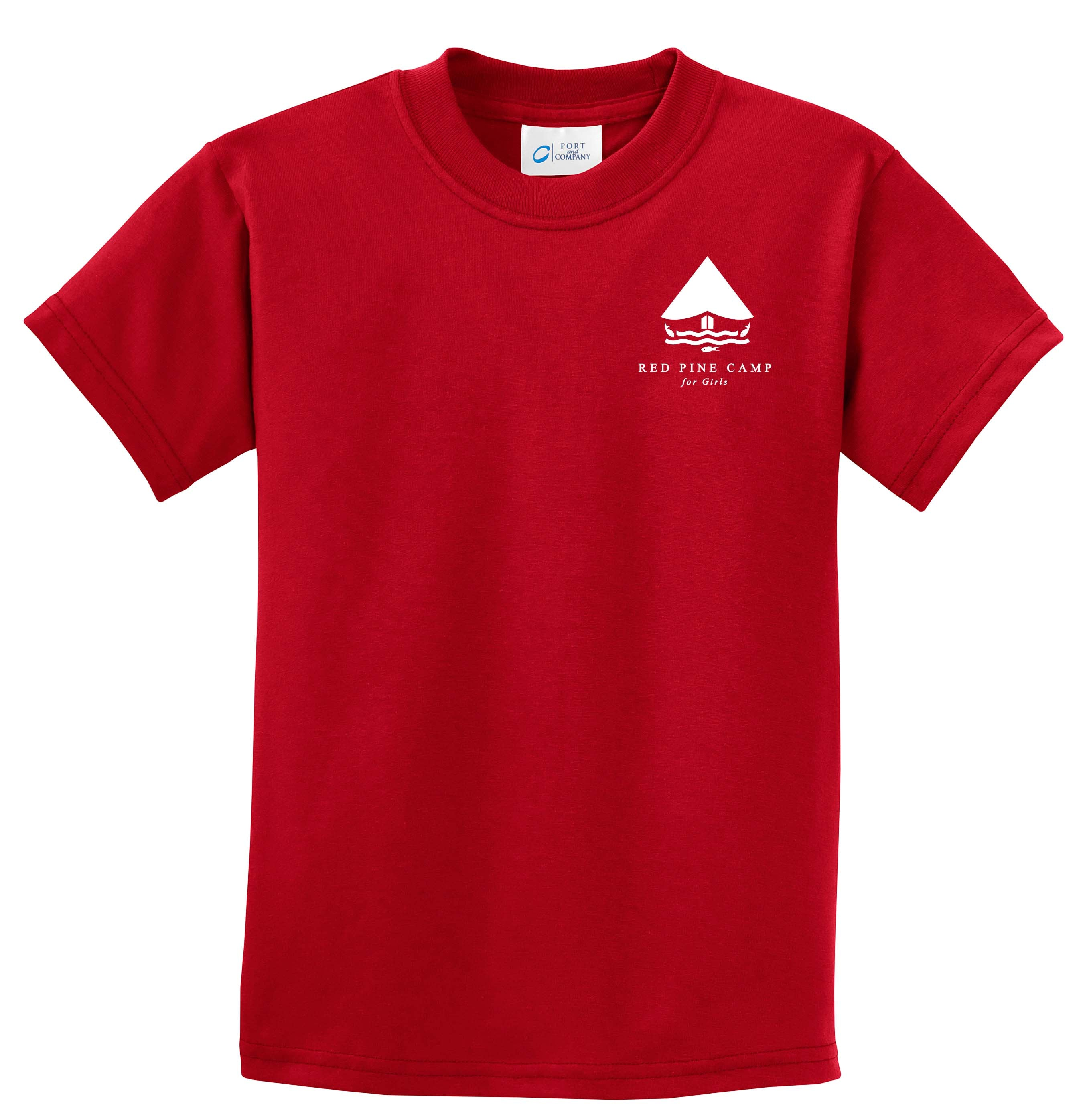 Red Pine Camp Logo Tee