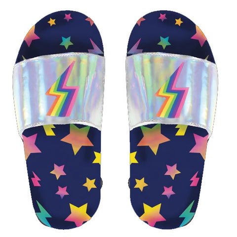 iScream Stars and Lightning Holographic Slides