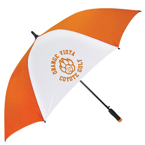 Orange Vista Golf Umbrella