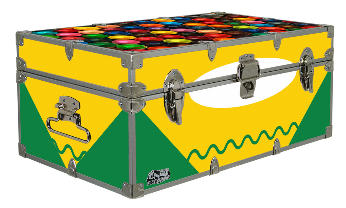 Designer Trunk - Box of Crayons - 32x18x13.5""