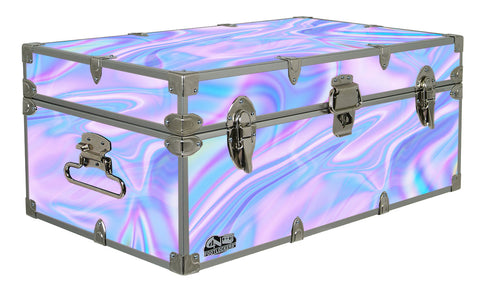 Designer Trunk - Electric Cotton Candy - 32x18x13.5""
