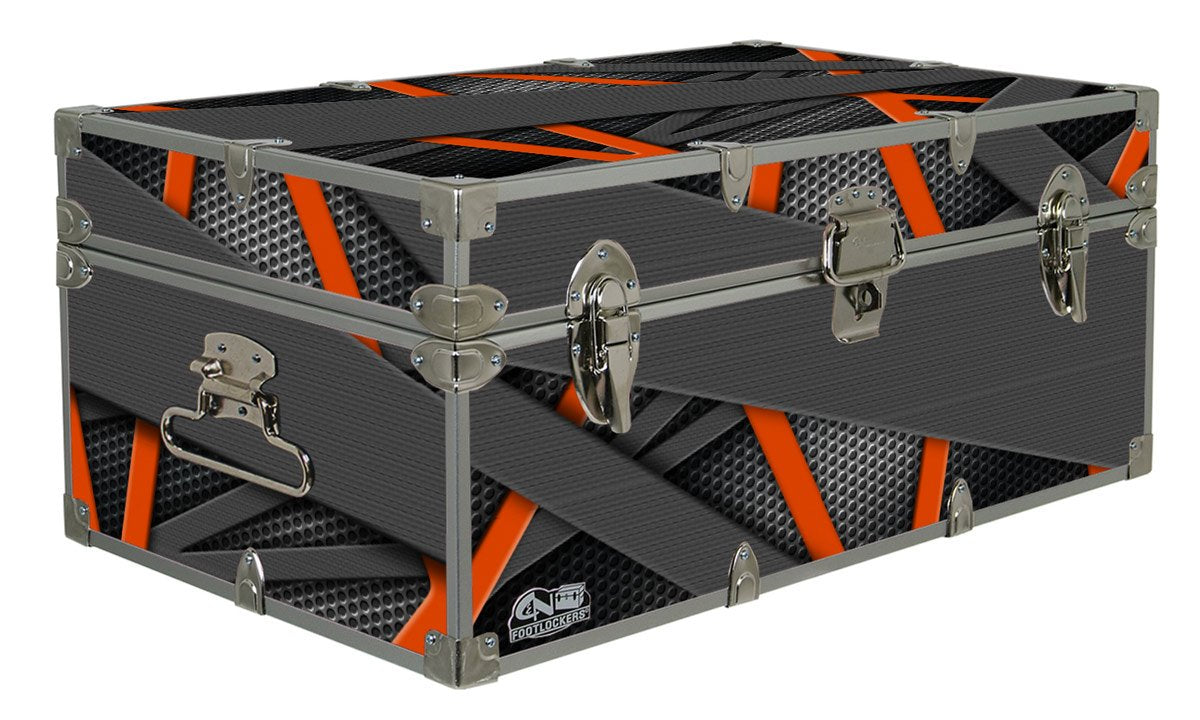 Designer Trunk - Abstract Carbon - 32x18x13.5""
