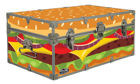 Designer Trunk - Hamburger - 32x18x13.5""
