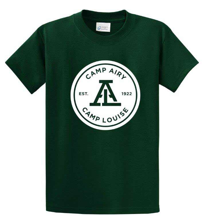 Camps Airy & Louise Logo Tee