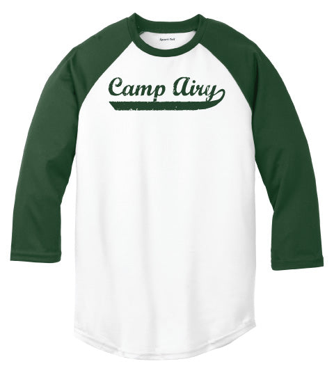 Camp Airy Baseball Tee