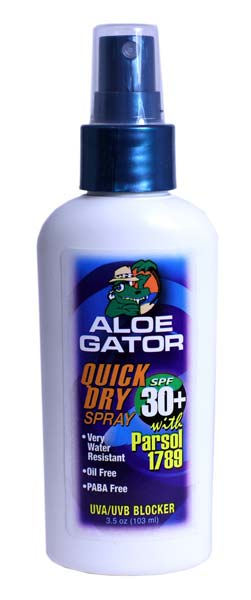 Aloe Gator SPF 30 Quick Dry Pump Spray
