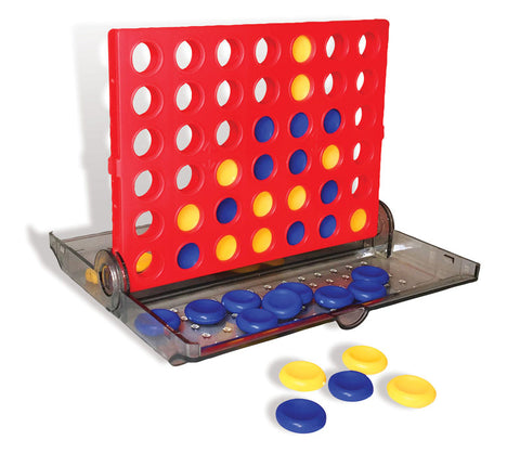 Backpack 4-in-a-Row Game