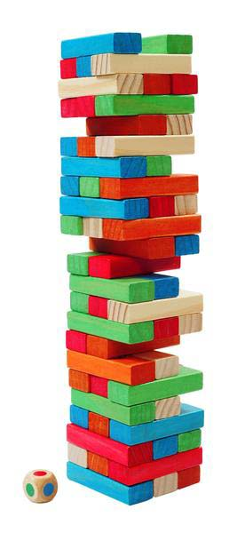 Backpack Tumbling Towers
