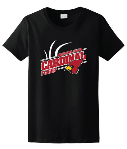 Cardinal Flight Basic Cotton Tee|70520|70521|70522|70523|70524|70525|70526|70527|70528