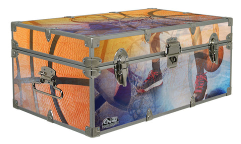 Designer Trunk - In Action Basketball - 32x18x13.5""