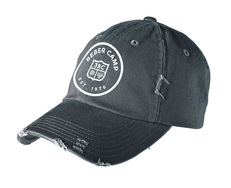 Beber Distressed Ball Cap
