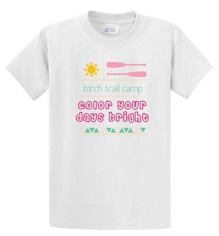 Birch Trail Color Your Days Bright Tee