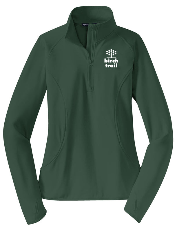 Birch Trail Camp Thumb Hole 1/2 Zip Warm Up Jacket