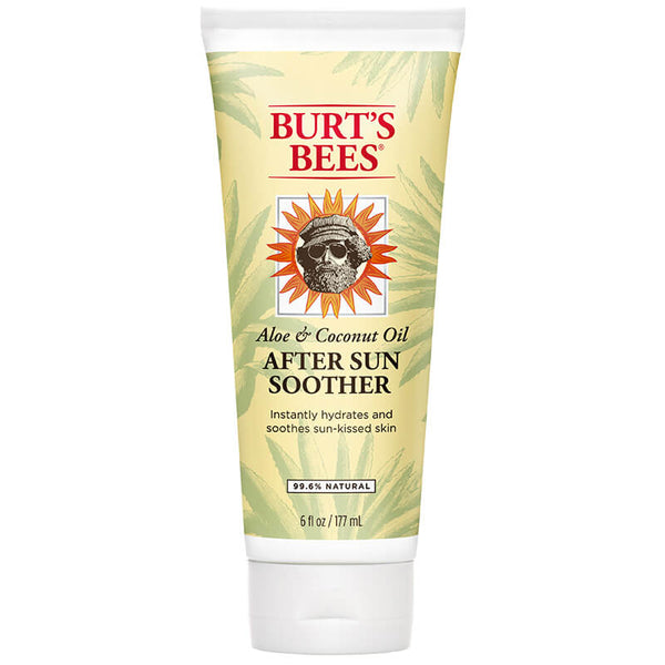 Use Burt's Bees After Sun Soother to instantly hydrate your skin after little too much sun