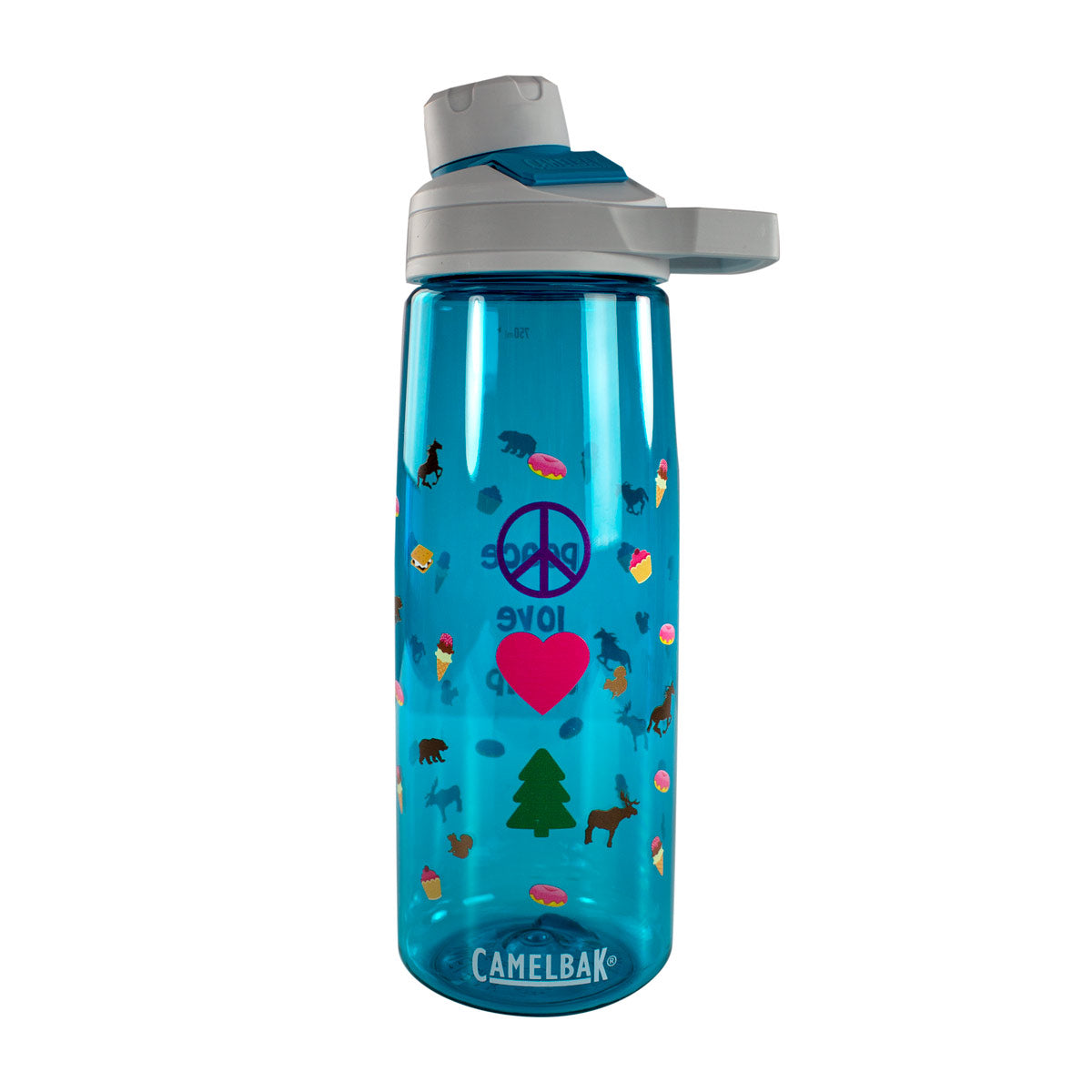 Camelbak Chute® Mag .75L Water Bottle - Peace, Love, Camp