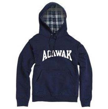 Camp Agawak Flannel Fleece Hoodie
