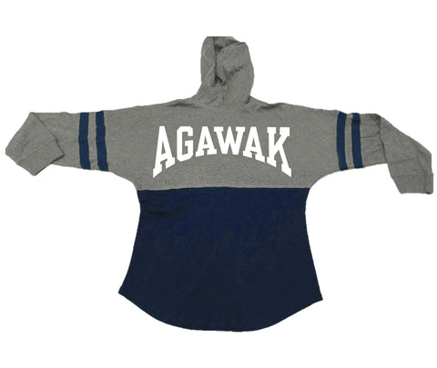 Camp Agawak Pom Pom Hooded Jersey