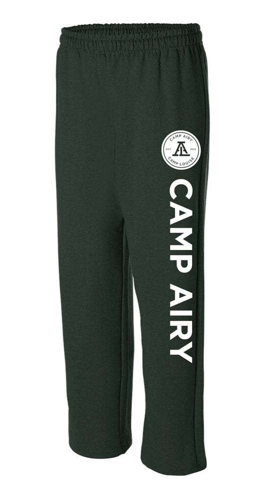 Camp Airy Open Bottom Sweatpants