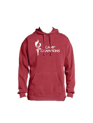 Camp Champions Pigment Dyed Hoodie