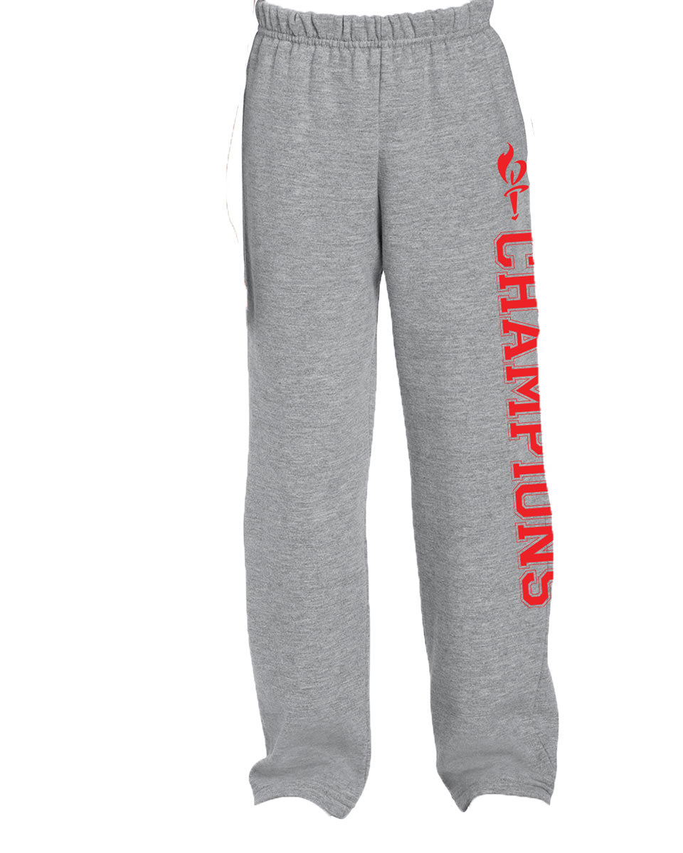 Camp Champions Open Bottom Sweatpants