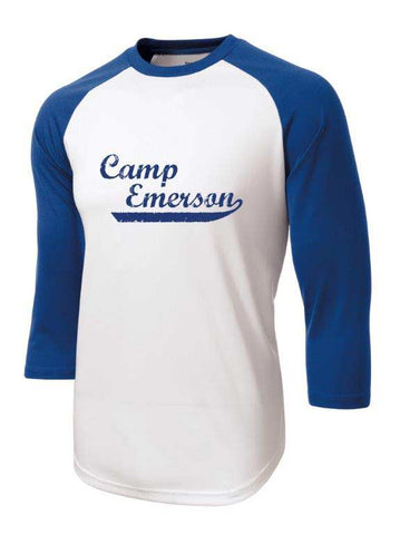 Camp Emerson Baseball Tee