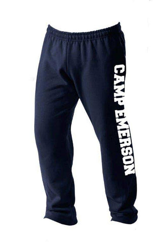 Camp Emerson Open Bottom Sweatpants
