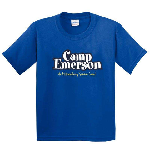 Official Camp Emerson Royal Tee