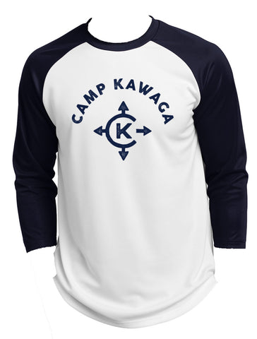 Camp Kawaga Baseball Tee