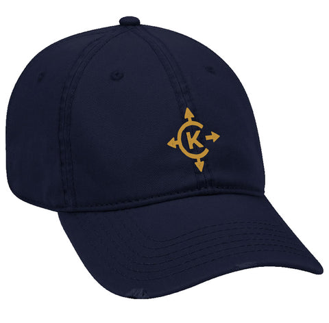 Camp Kawaga Distressed Ball Cap
