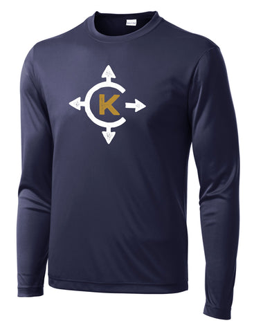 Camp Kawaga Long Sleeve Performance Tee