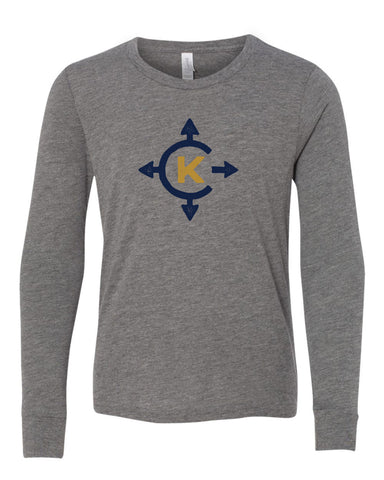 Camp Kawaga Long Sleeve Tee-Youth