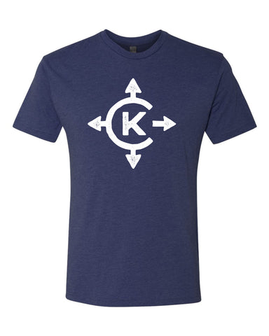 Camp Kawaga Navy Compass Tee