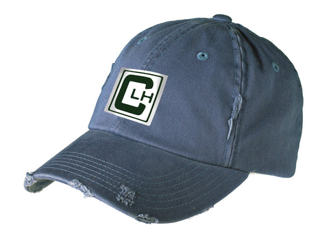 Camp Lake Hubert Distressed Ball Cap