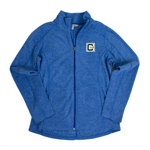 Camp Lake Hubert Womens Microfleece Jacket