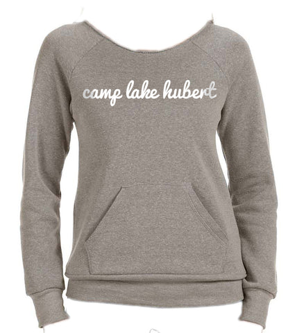 Camp Lake Hubert Slouchy Crew Sweatshirt
