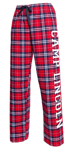 Camp Lincoln Flannel Pants