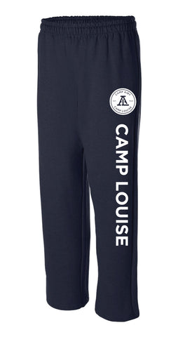 Camp Louise Open Bottom Sweatpants