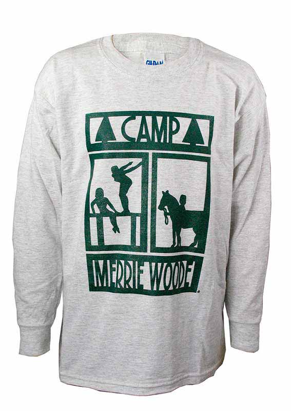 Camp Merrie-Woode Long Sleeve Tee with Print