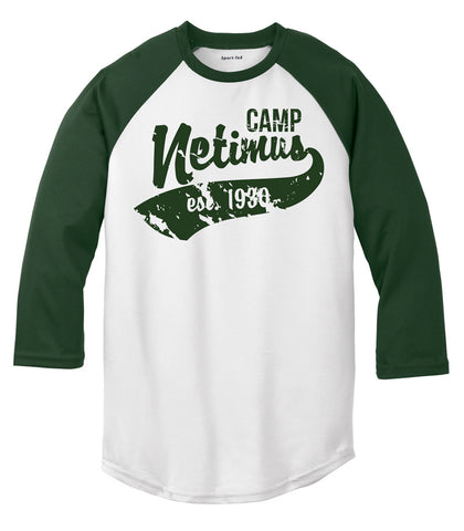 Camp Netimus Baseball Tee