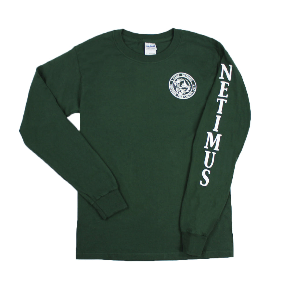 Camp Netimus Vintage Long Sleeve Shirt