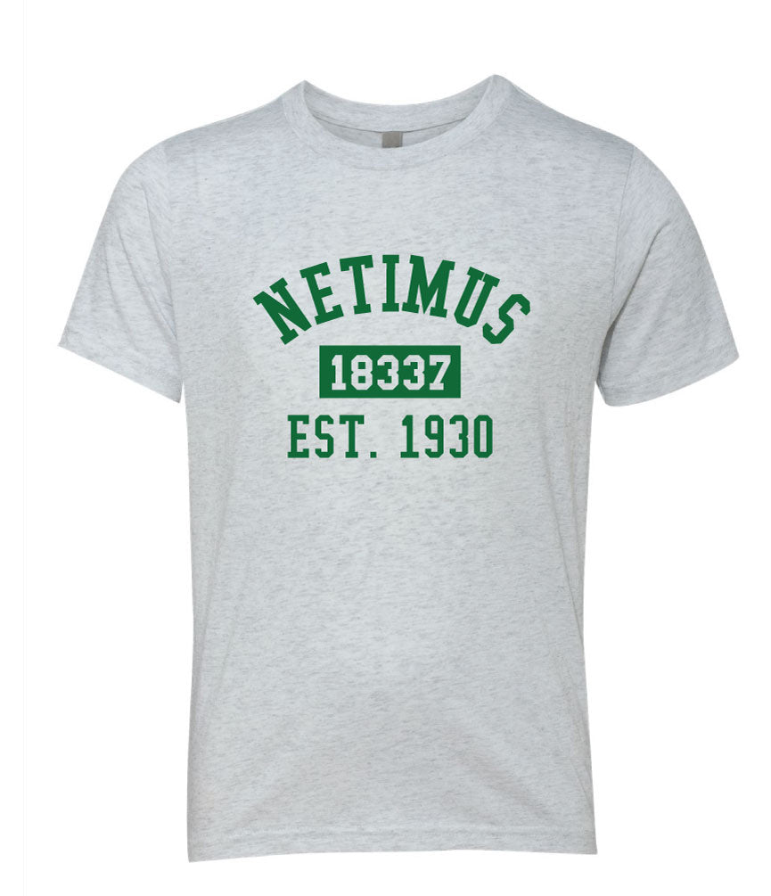 Camp Netimus Zip Code Tee