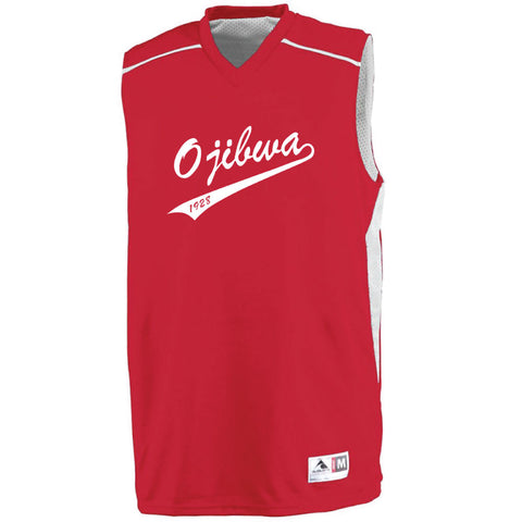 Camp Ojibwa Reversible Basketball Jersey