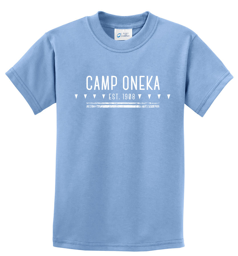 Oneka Established Tee - Light Blue