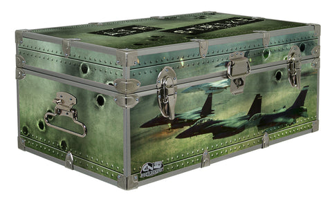 Designer Trunk - Air Strike - 32x18x13.5""