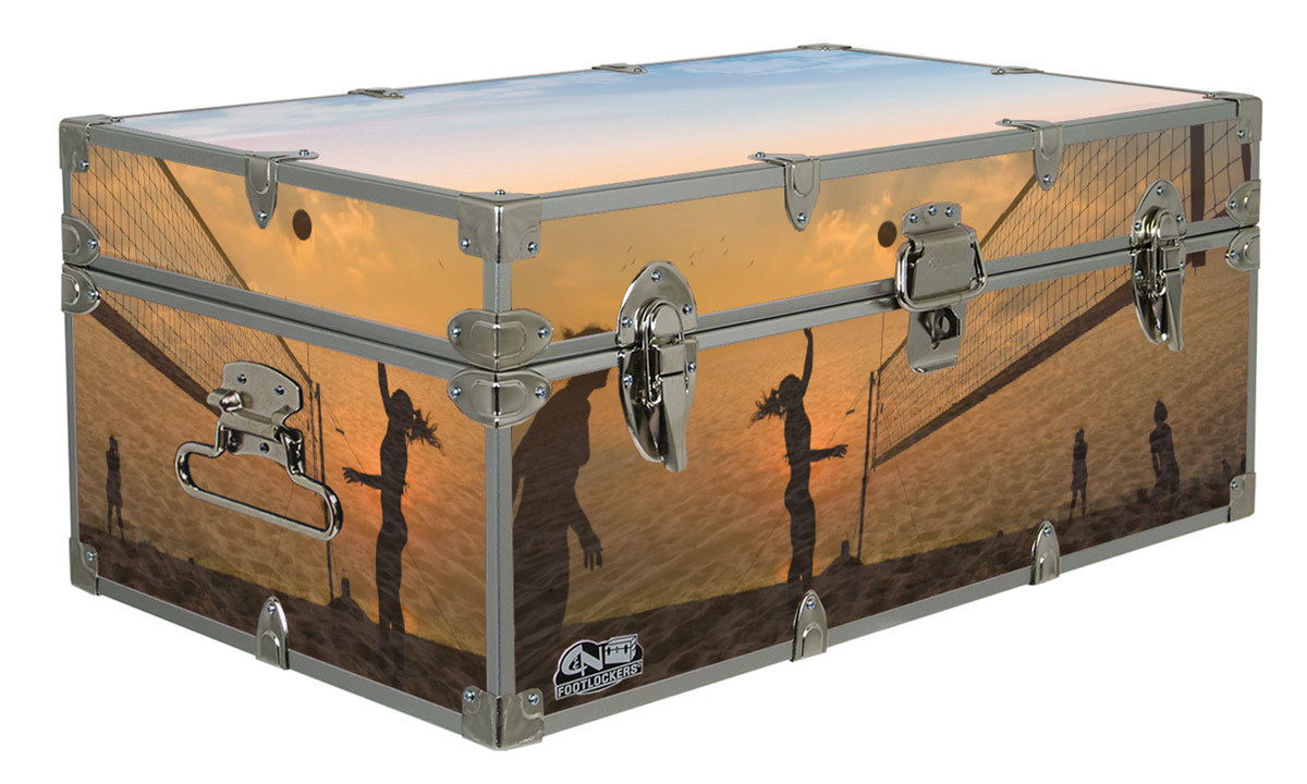 Designer Trunk - In Action Volleyball - 32x18x13.5""