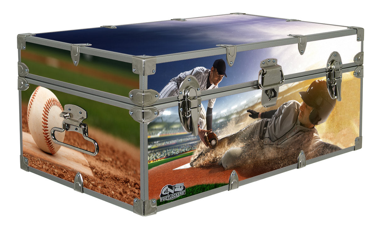 Designer Trunk - In Action Baseball - 32x18x13.5""